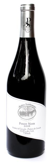 Potter settlement artisan wines pinot noir